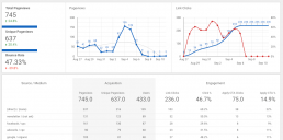 Web Traffic Statistics